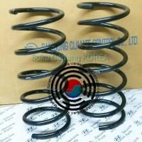 Per Spiral Shockbreker Hyundai Verna Avega Bagian Depan Per Keong