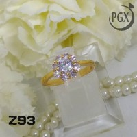 harga Z93 Cincin Xuping Yaxiya - Perhiasan Lapis Emas 18k Tokopedia.com