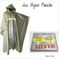 harga Jas Hujan Poncho Dewasa Elephant Brand Big Top Silver Tokopedia.com