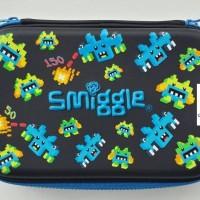 Smiggle Pencil Case Lego Black New Model Ori