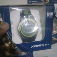 Jam Tangan Xonix 100m Heart Rate Monitor Berenang Digital Sport Unisex