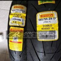 Ban Pirelli Diablo Rosso 3 120/70-17 & 180/55-17