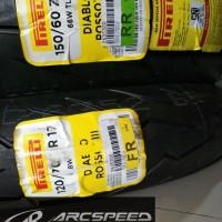 Ban Pirelli Diablo Rosso 3 120/70-17 & 150/60-17