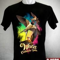harga Kaos Burung Walet Pelangi Tokopedia.com