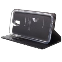 original Leather case samsung J7 J 7 pro 2017 flip cover wallet card