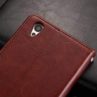 Casing Oppo F1 A35/ A37 NEO 9 Leather Kulit FLIP COVER WALLET Case HP