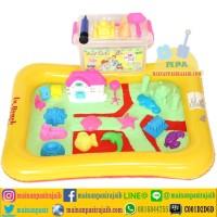 Jual Mainan Pasir Ajaib Play Sand Paket Lengkap JUMBO dan Rumah Hello Kitty Murah