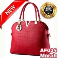 Jual Tas wanita import Tas wanita tas fossil tas wanita branded / 34 MERAH Murah