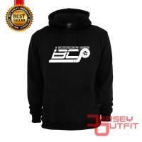 Harga sweater hoodie jaket racing bcp boost controlled performance | Pembandingharga.com