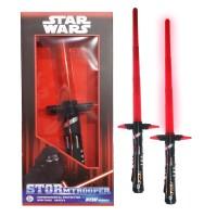 Pedang Star Wars Kylo Ren Red. Pedang LED Mainan Anak Menyala
