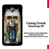 Samsung A8 michael jackson dangerous Custom Hard Case
