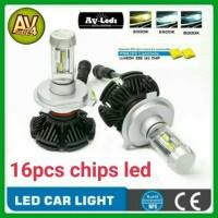 Jual LAMPU LED MOBIL H4 7S 12000Lm Philips ZES Hi/Low Murah