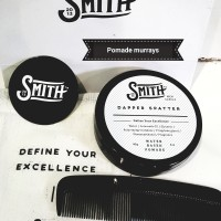 Pomade Smith Dapper Spatter Waterbased (FREE SISIR & POUCH)
