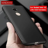 Jual Xiaomi Redmi Note 4 4X Snapdragon Matte Softcase Silicon Black Case Murah
