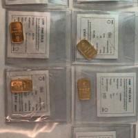 Jual EMAS LOGAM MULIA/ GOLD BAR ANTAM 10gr sertifikat 2012, 2013, 2016 Murah