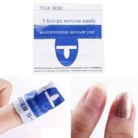 UV LED Gel nail polish Removal Wraps Foil/Penghapus kutek/TERMURAH