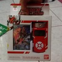 New Bandai Digimon Xros Wars Red Fusion Loader English Digiv Terbaru