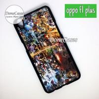 Casing OPPO F1 PLUS Marvel Vs DC Hard Case Custom