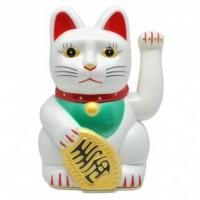 Maneki Neko Fortune Cat White