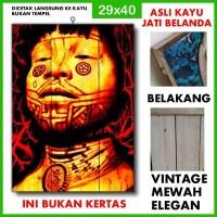 Poster Sepultura 5 SPT05 Kayu Vintage Asli Dinding Rumah/kafe