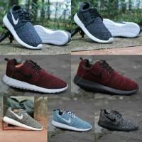 Nike Rose Run Cordora size 39-43 sepatu pria olahraga running black