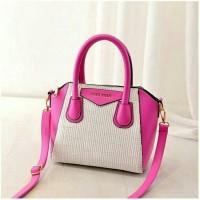 Tas Selempang Handbag Wanita warna Pink Kombinasi