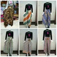 Jual Rok Kulot Batik Celana Cutbray Harga grosir termurah Murah