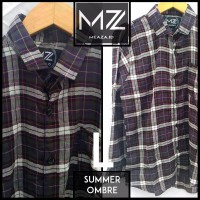 Jual Summer Ombre kemeja flannel flanel branded premium murah grosir Murah