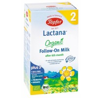 TOPFER LACTANA ORGANIC FOLLOW ON MILK FORMULA 2