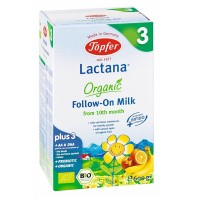 TOPFER LACTANA ORGANIC FOLLOW ON MILK FORMULA 3