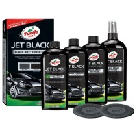 Turtle Wax JET BLACK BOX FINISHED KIT 4 x 355 mL