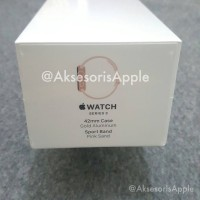 Jual Apple Watch Series 3 GPS 42mm Gold with Pink Sand Sport Band Murah