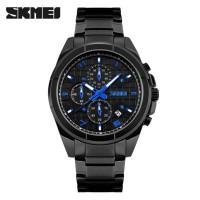 JUAL PROMO Jam Tangan Pria ORIGINAL SKMEI 9109 Casio Analog - Black