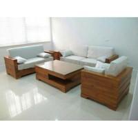 Terbaru Kursi Tamu Minimalis Modern Jati Sofa Kualitas Jepara