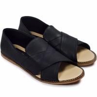 Sepatu Giant Flames Woman Minami Black Sepatu Wanita