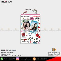 Fujifilm Refill Instax Mini Hello Kitty Paper Instant Film 10 Sheet