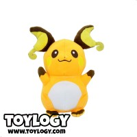 Boneka Original RAICHU ( Pokemon Plush Doll RAICHU ) 8 inch
