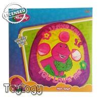 Barney Hot Shot Tent ( Permainan Ketangkasan, Melempat Bantalan Bola )