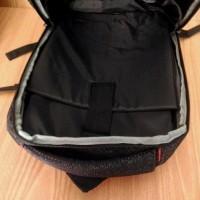 Tas Ransel Selempang Laptop 3In1 Q-Lab Fbc7 Grey Abu & Black Hiatm 14