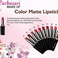Lipstik Purbasari Colour Matte No. 85 - Safir
