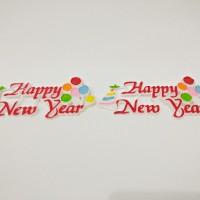 Jual Hiasan Kue Merry Christmast / Tusukan Kue Natal ( 6 pcs ) A Murah