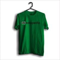 Kaos Toko Pedia logo merchandise 100% cotton combed