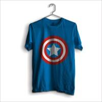 Jual Kaos Captain America logo Murah