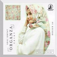 Jilbab Organza Silk 1 By Gerai Fashion Modern Iwapi