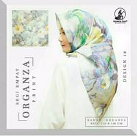 Jilbab Organza Silk 2 By Gerai Fashion Modern Iwapi