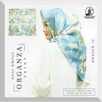 Jilbab Organza Silk 7 By Gerai Fashion Modern Iwapi