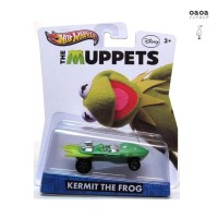 HOT WHEELS THE MUPPETS KERMIT THE FROG DISNEY COLLECTIBLE RARE DIECAST
