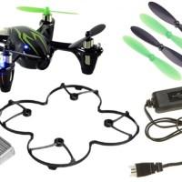 Jual Drone: Hubsan X4 h107c video record, 8520 motor Murah