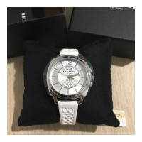 Jam Tangan Analog wanita Coach white Watch Authentic Original