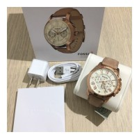 Jam Tangan Digital Fossil Q Grant Rosegold Watch Authentic Original